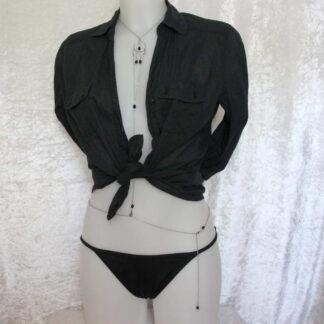 Bijoux pour seins sans piercing. Bijoux de corps entièrement modulable.